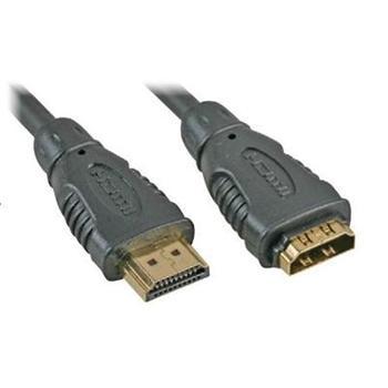 PremiumCord prodlužovací kabel HDMI, M/F, 5m