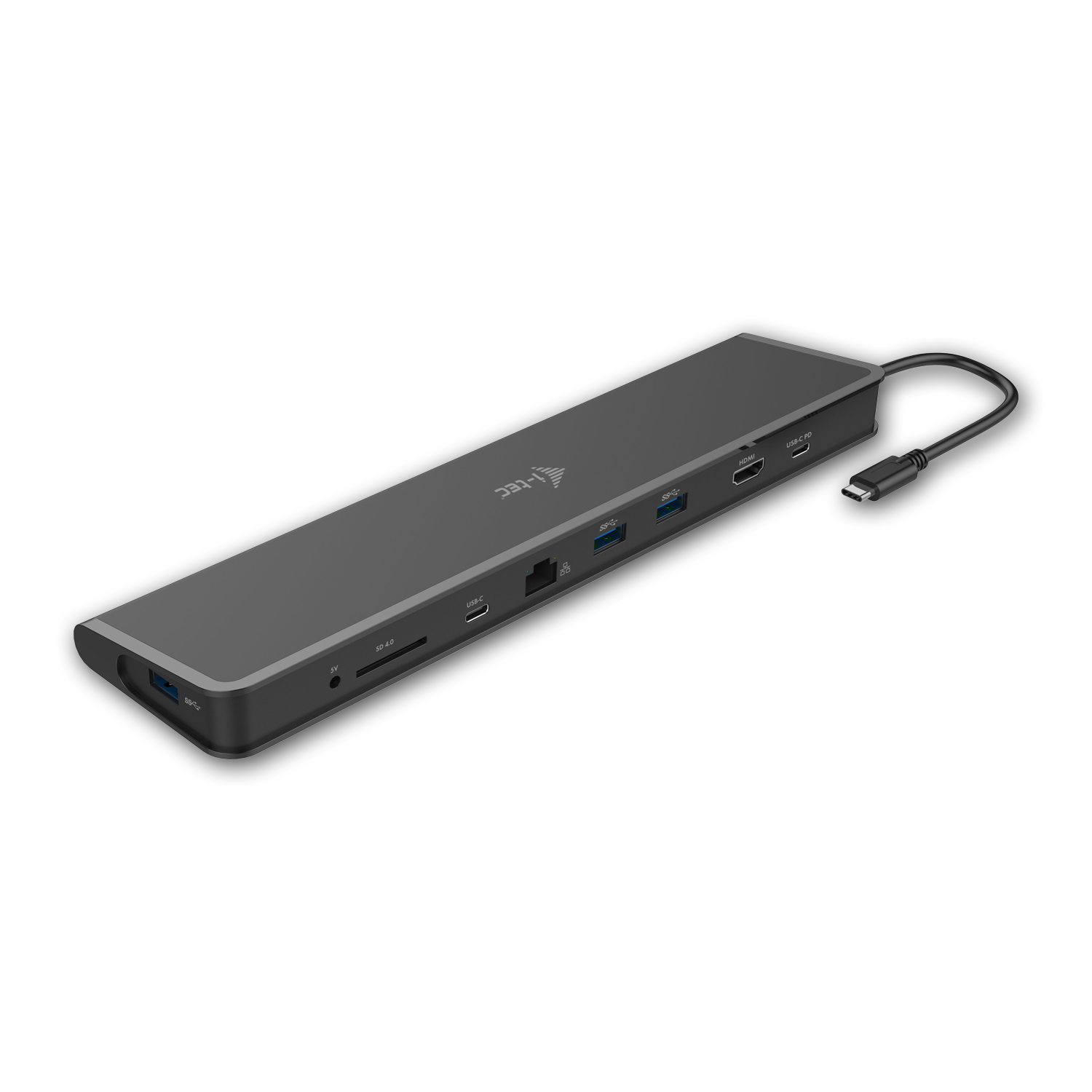 i-Tec USB-C 3,1 Docking Station Flat , HDMI, 3x USB, čtečka, Power delivery + dárek