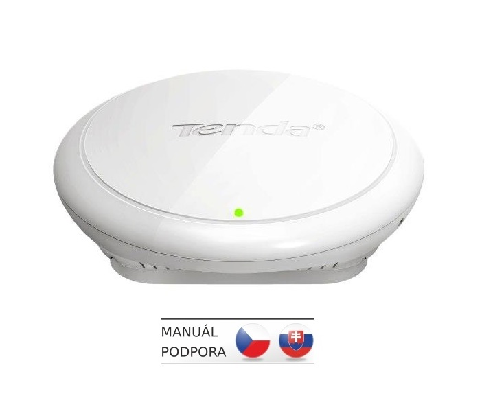 Tenda i12 Wireless-N Access Point/WDS Repeater/Client+AP 300Mbps, GLAN, PoE 802.3af,VLAN,4xSSID,SMTP