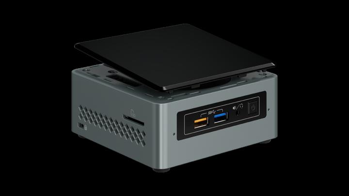 "INTEL NUC Arches Canyon/Kit NUC6CAYH/Celeron J3455/Wifi/USB3/HDMI/2.5""+M.2 SSD"
