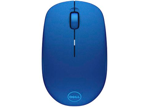 Dell myš, bezdrátová WM126 k notebooku, modrá