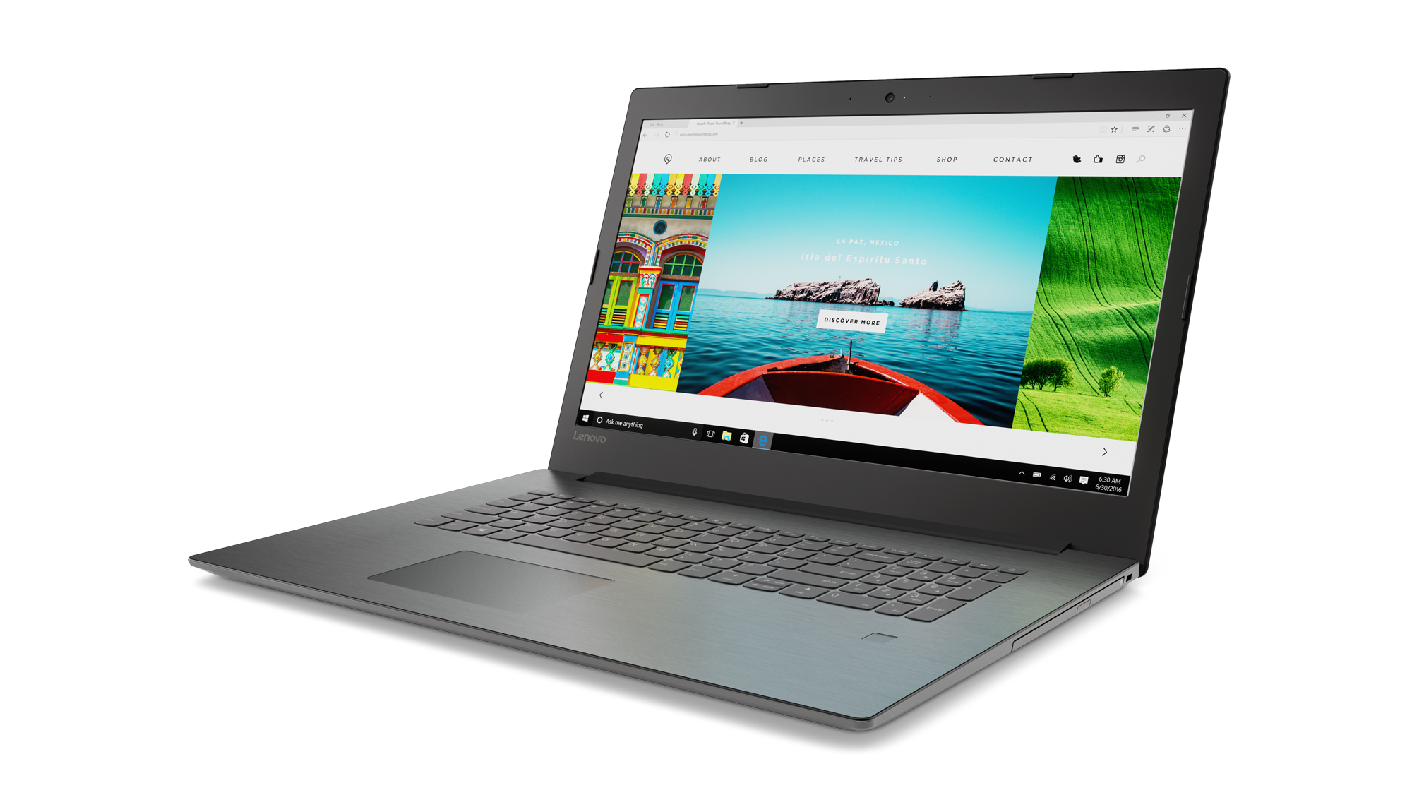 "Lenovo IdeaPad 320-17AST AMD A6-9220 2,50GHz/8GB/HDD 1TB/17,3"" HD+/AG/Radeon 2GB/DVD-RW/WIN10 černá 80XW000HCK"