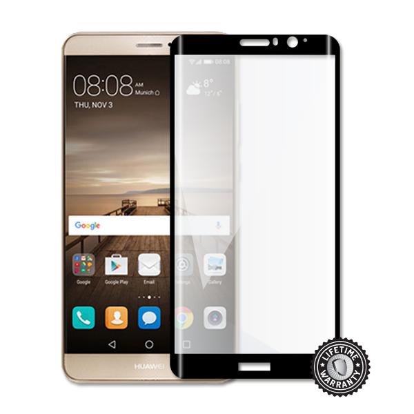 ScreenShield ochrana displeje Tempered Glass pro Huawei Mate 9, kovový rámeček, černá