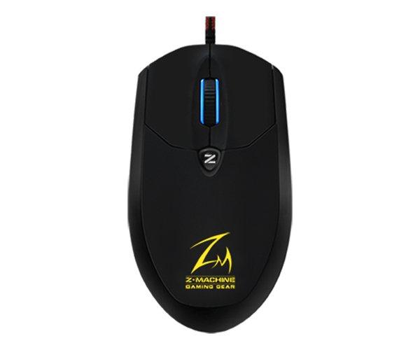 Zalman myš ZM-M600R, optická, 4000DPI, USB, 5tl., LED, black