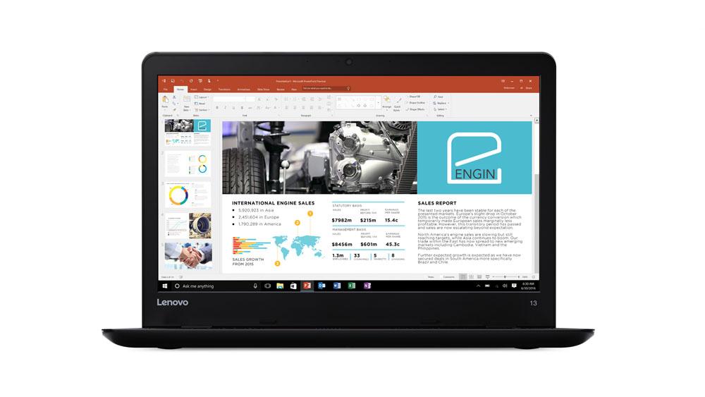 """Lenovo ThinkPad 13 i7-7500U/8GB/256GB SSD/HD Graphics 620/13,3""""FHD IPS matný/Win10PRO/Black"""