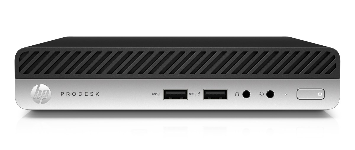 HP ProDesk 400G3 DM i3-7100T/4GB/Intel Optane 16 GB + HDD 500 GB/Intel HD/DVD-RW/Win 10 Pro