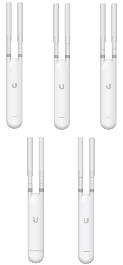 Ubiquiti UniFi UAP AC Mesh 802.11AC Indoor/Outdoor AP, 24V/802.3af PoE - 5 Pack!
