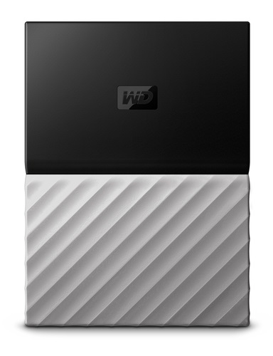 WD My Passport Ultra 2.5'' extrerní HDD 2TB, USB 3.0, šedý Worldiwde