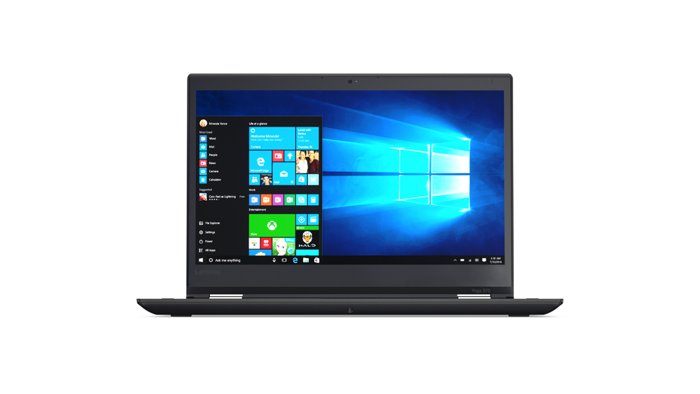 "Lenovo ThinkPad YOGA 370 i5-7200U/8GB/256GB SSD/HD Graphics 620/13,3""FHD IPS multitouch/4G/Win10PRO/Black"