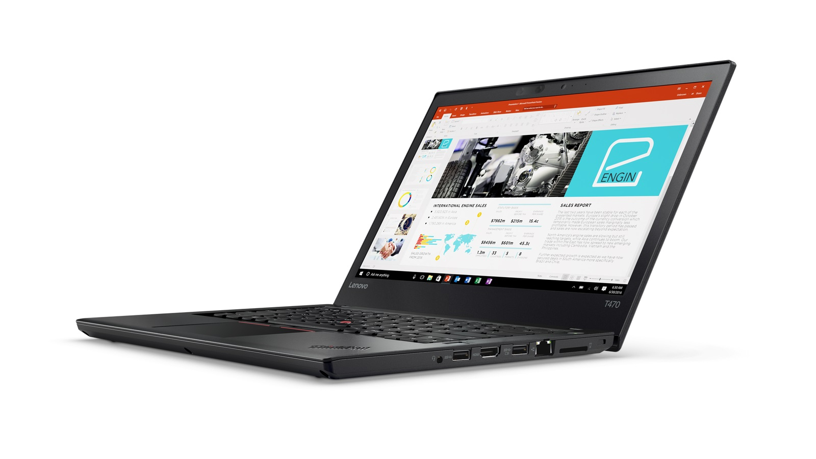 "Lenovo ThinkPad T470 i5-7200U/8GB/256GB SSD/HD Graphics 620/14""FHD IPS/4G/Win10PRO/Black"
