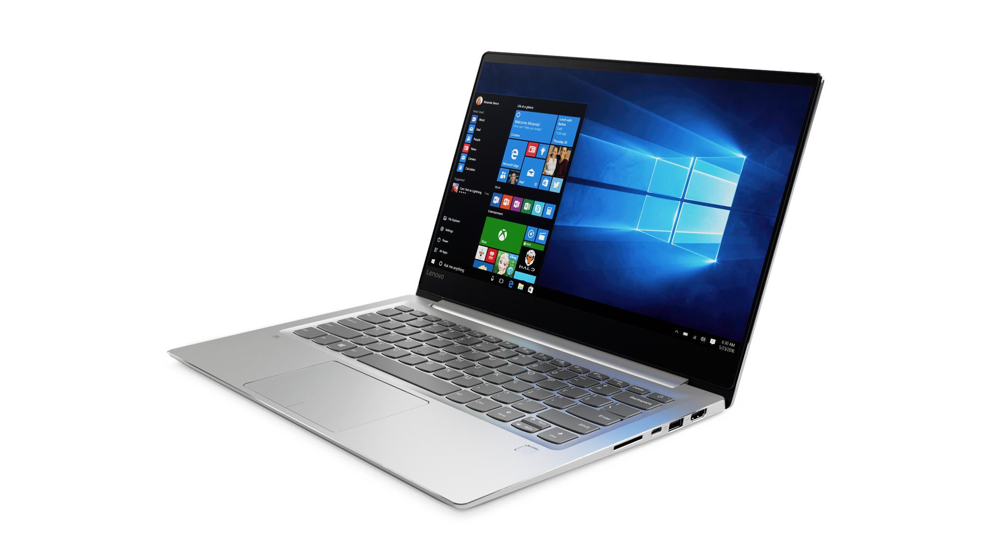 """Lenovo IdeaPad 720S-14IKB i5-7200U 3,10GHz/8GB/SSD 256GB/14,0"""" FHD/IPS/AG/GeForce 2GB/WIN10 stříbrná 80XC0013CK"""