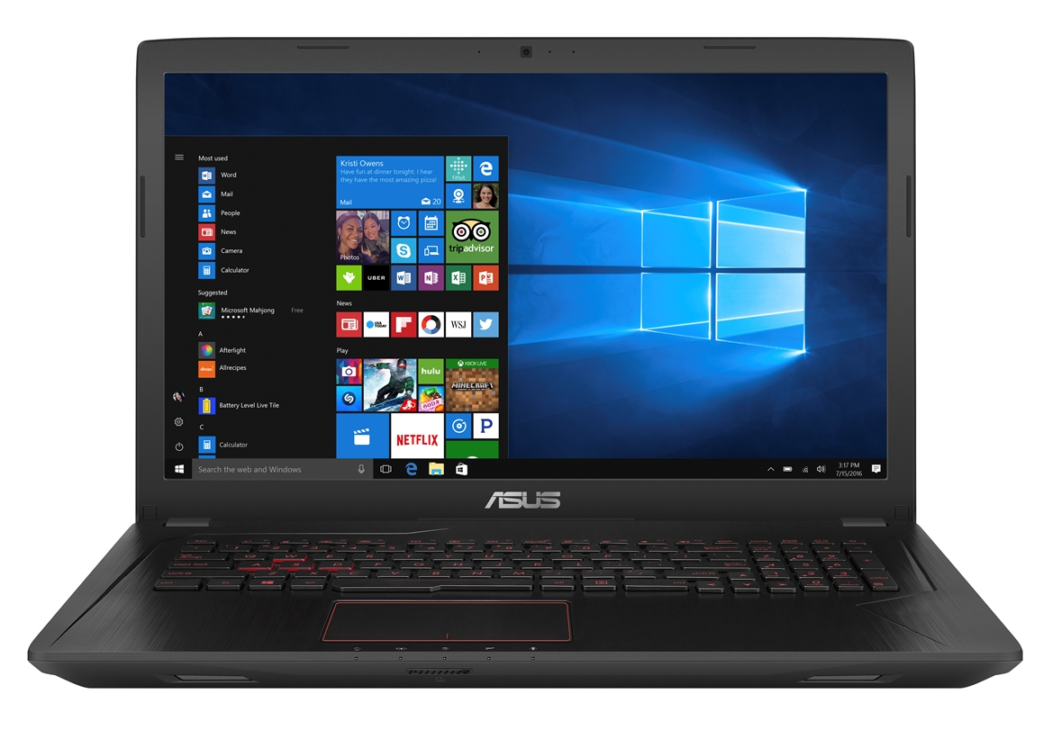"ASUS FX753VD-GC261T i5-7300HQ/8G/1T 7200 ot./GTX1050/17,3"" IPS/FHD/W10/Black"