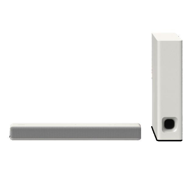 Sony Soundbar HT-MT301, 100W, 2.1k, BT/NFC, bílý