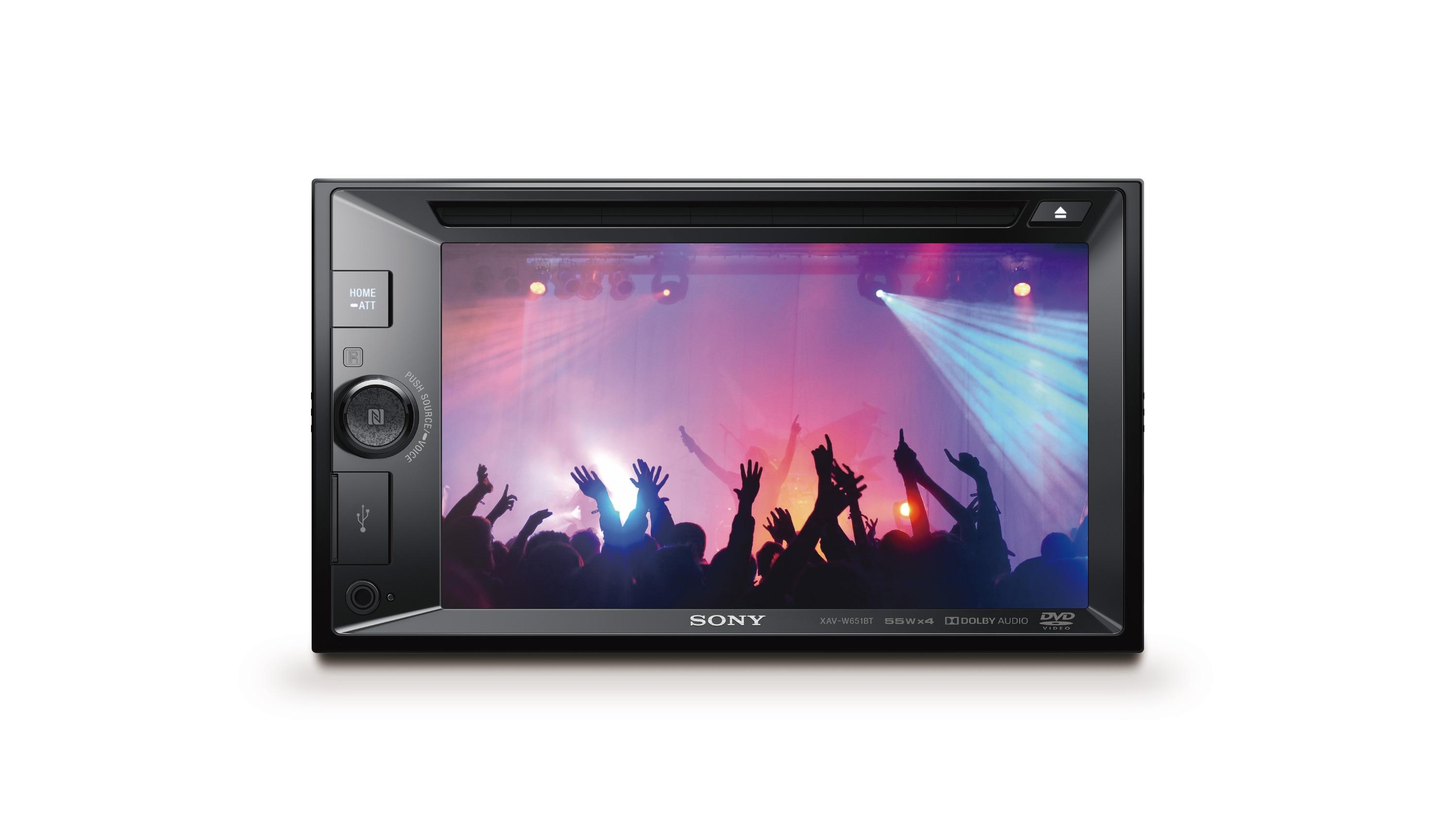 Sony autorádio XAV-651BT dot.display BT/NFC,CD/DVD