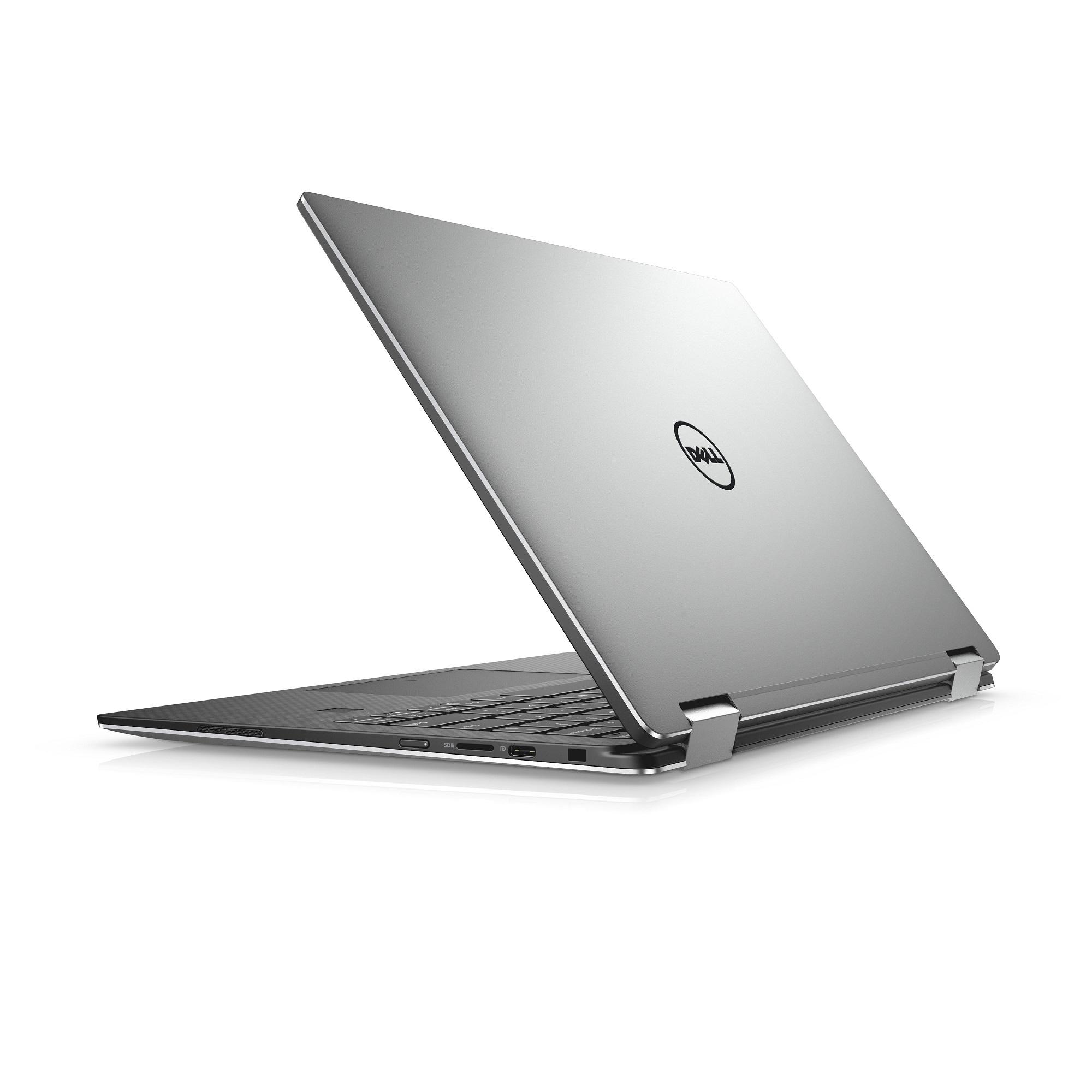 """Dell XPS 13 9365 13"""" QHD+ Touch i7-7Y75/8G/512GB SSD/THB/USB-C/MCR/FPR/W10/2RNBD/Stříbrný"""