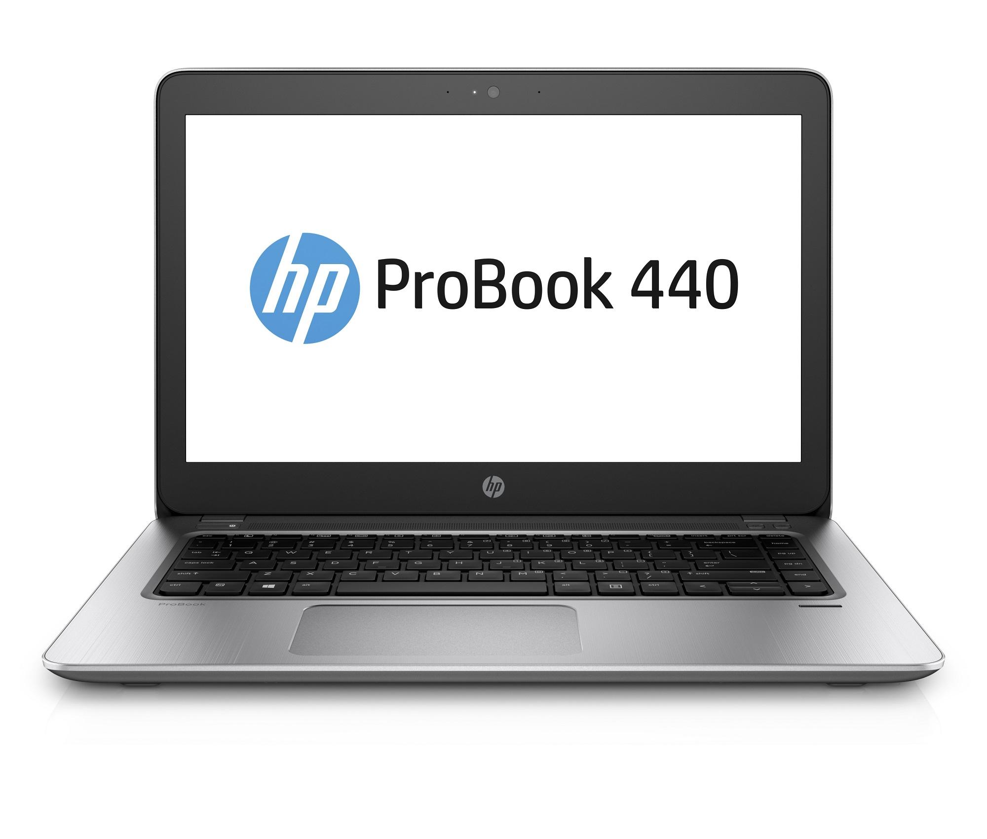 HP ProBook 440 G4 i5-7200U 14.0 FHD CAM, 4GB, 256GB SSD+volny slot 2,5, FpR, WiFi ac, BT, Backlit kbd, Win10Pro