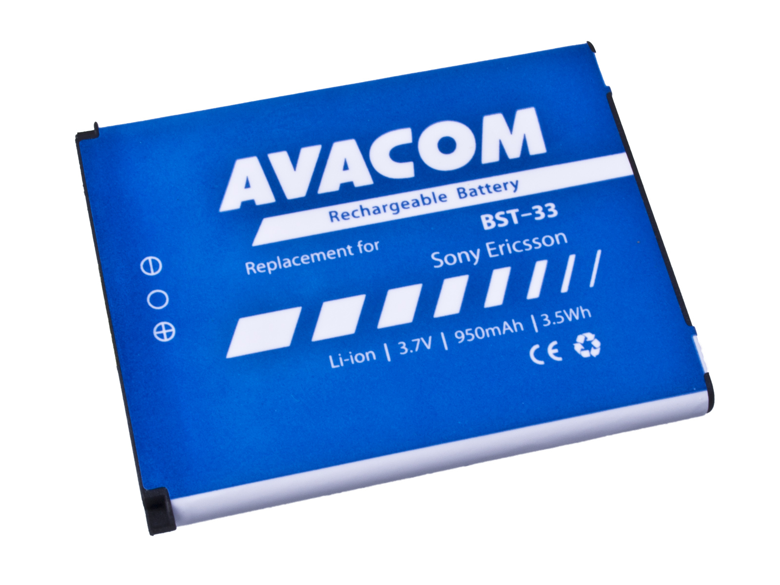 Baterie AVACOM GSSE-W900-S950A do mobilu Sony Ericsson K550i, K800, W900i Li-Ion 3,7V 950mAh (náhrad