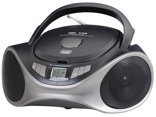 CMP 531/BK Radiopřij.+CD přehrávač,USB