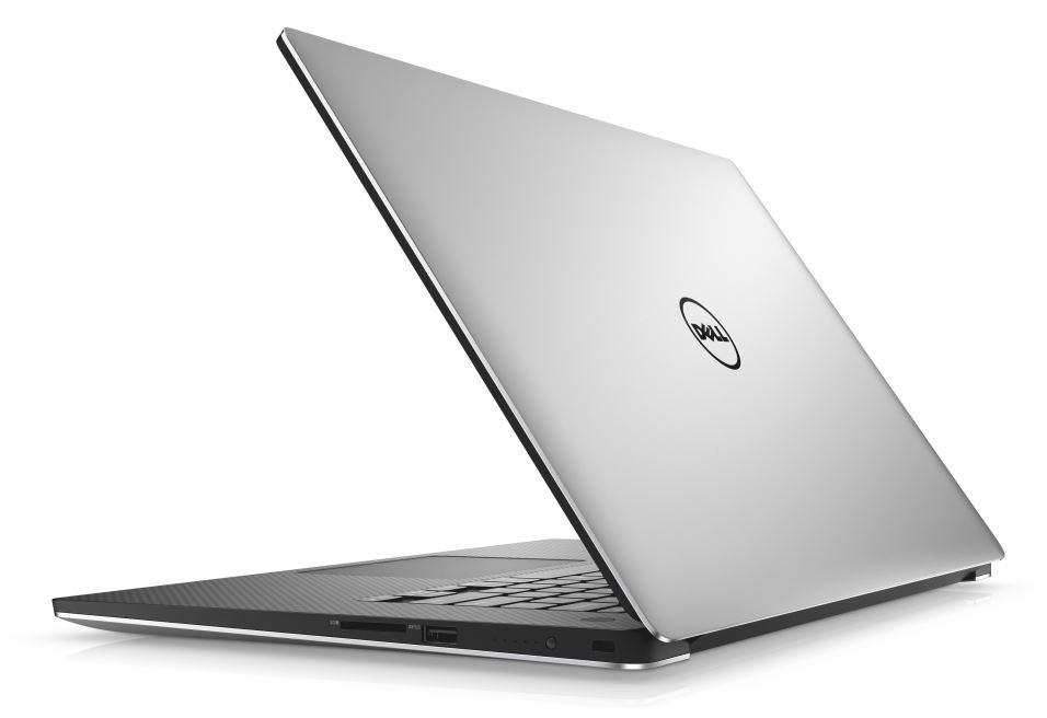 """Dell XPS 15 9560 15"""" FHD i7-7700HQ/8G/256GB SSD/GTX1050-4G/FPR/MCR/TB/HDMI/W10/2RNBD/Stříbrný"""