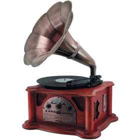 STT 018TUBE GRAMOFON,FM/CD/USB/SD SENCOR