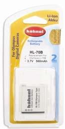Hähnel HL-70B - Olympus Li-70B 3.7V, 560mAh, 2.1Wh