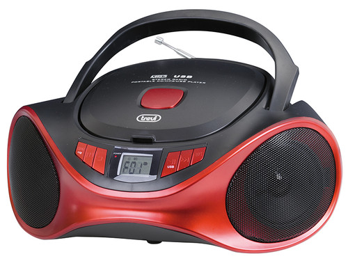 CMP 531/RD Radiopřij.+CD přehrávač,USB