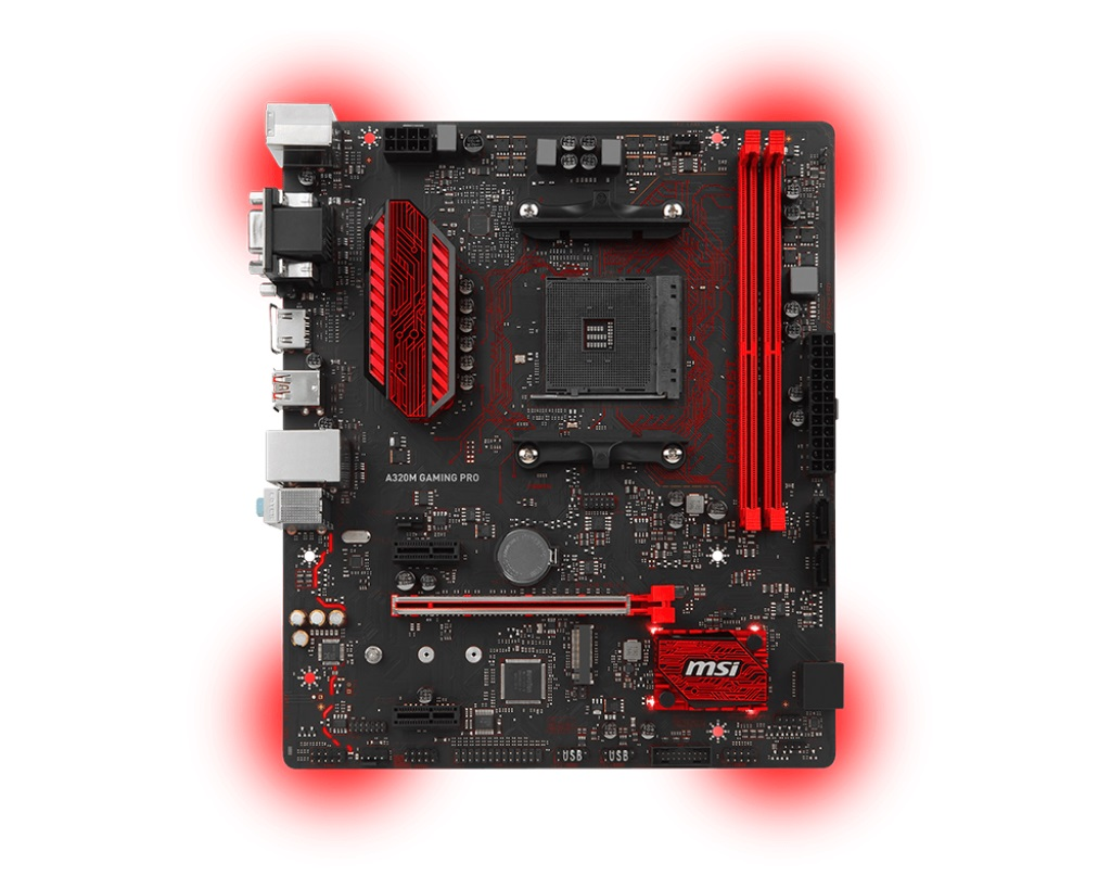 MSI MB Sc AM4 A320M GAMING PRO
