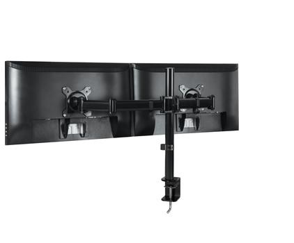 ARCTIC Z2 Basic – Dual Monitor Arm in black colour