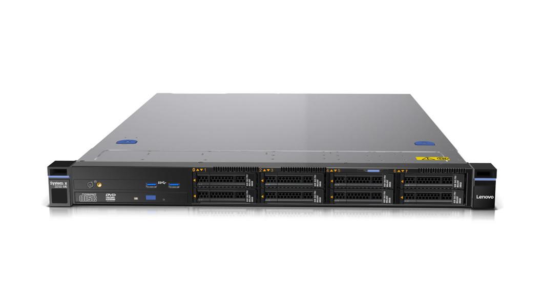 "System x TS x3250M6 Xeon E3-1220v5 4C 3.0GHz 8MB 2133MHz (80W), 8GB, 0GB 3.5"" HS(4), M1210, 1x460W"