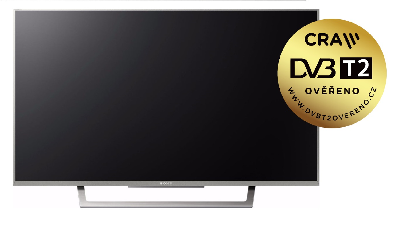 "Sony 32"" LED TV KDL-32WD757 /DVB-T2,C,S2/XR400Hz/stříbrná"