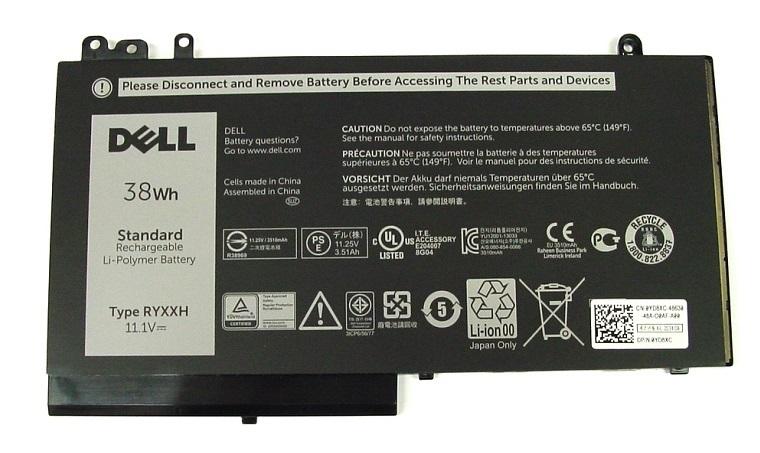 Dell Baterie 3-cell 38W/HR LI-ON pro Latitude 3100,3150,3160,E5250,E5450,E5550