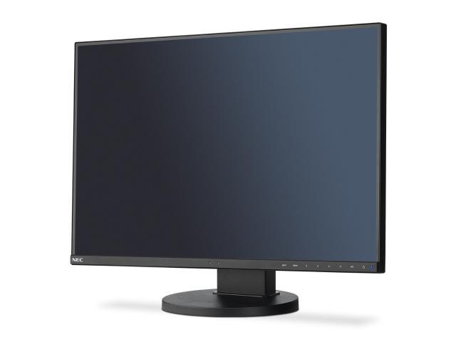"NEC 24"" EA245WMi - 1920x1200, PLS, W-LED, 250cd, D-sub, DVI, DP, Repro, černý"