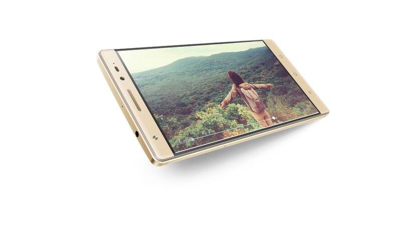 "Lenovo PHAB 2 PLUS MT8783 8C 1,30GHz/3GB/32GB+microSD/6,4"" FHD/IPS/8MP+2x13MPx foto/GSM dualSIM/4G/FPR/Android 6.0 zlatá"