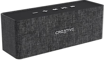 Creative NUNO bezdrátový přenosný reproduktor - černý