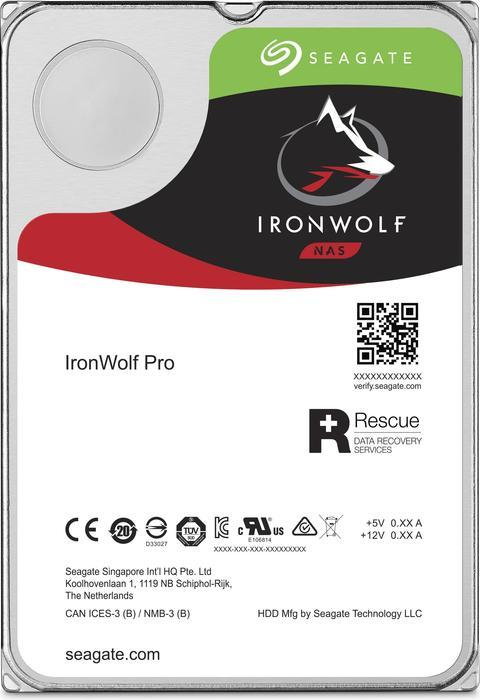 """Seagate IronWolf PRO, NAS HDD, 4TB, 3.5"""", SATAIII, 128MB cache, 7.200RPM"""