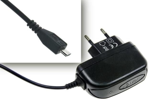 Nabíječka Aligator Micro USB, 1A, 5V, pro všechny smartphony řady Sxxxx, originální