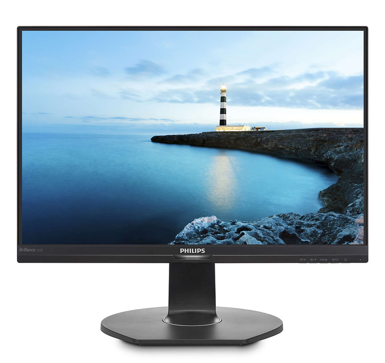 Monitor Philips 242B7QPTEB/00 24'', panel-IPS; HDMI, DP, D-Sub; reproduktory