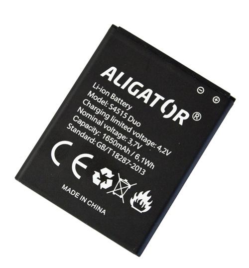 Aligator baterie S4515 DUO, Li-Ion 1650 mAh bulk