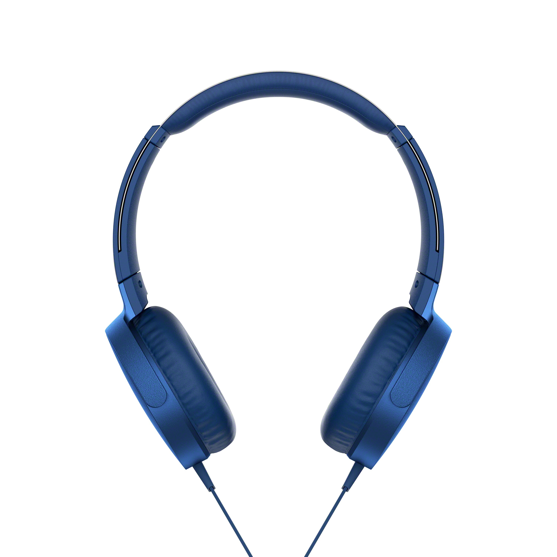 SONY MDRX-B550AP Sluchátka EXTRA BASS & DJ type - headband - Blue
