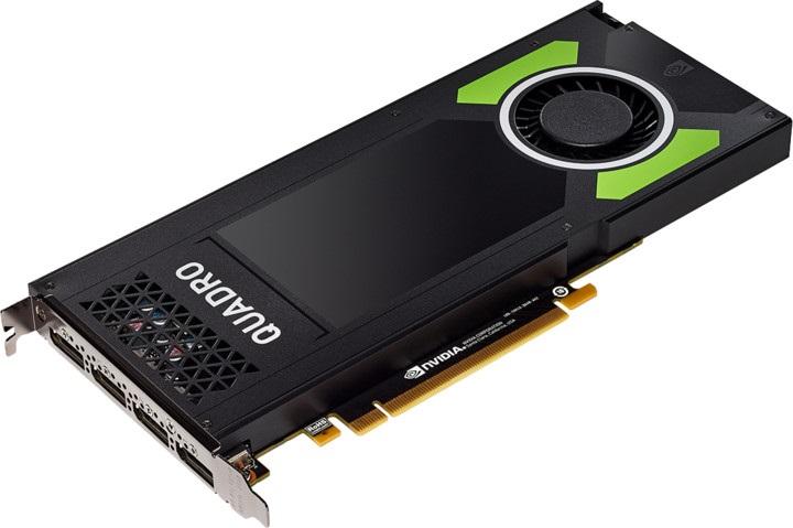 HP Nvidia Quadro P4000 8GB 4x DP 1.4 VR Ready