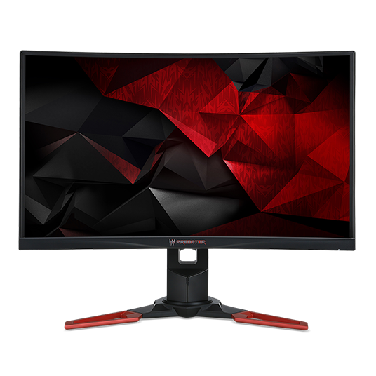 "Acer LCD Predator Z271bmiphzx 27"" VA LED, FHD 1920x1080@144Hz /100M:1/4ms/HDM/DP/ USB3.0 Hub/ Hgt Adj/ Black with RedStand"