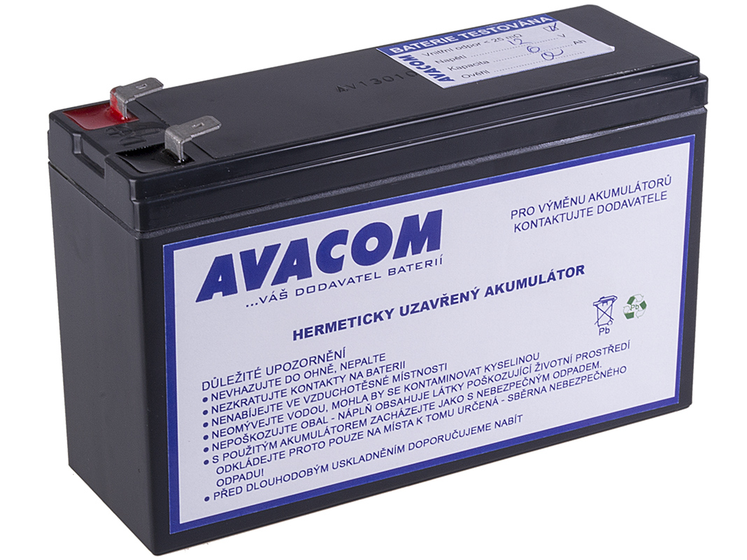 Baterie AVACOM AVA-RBC106 náhrada za RBC106 - baterie pro UPS