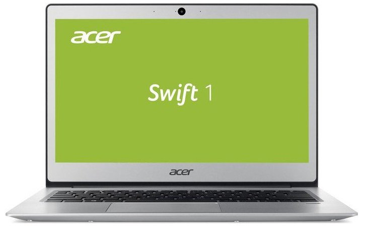 "Acer Swift 1 (SF113-31-P56D) Pentium N4200/4GB+N/A/128GB SSD+N/A/HD Graphics/13"" FHD IPS LED/BT/W10 Home/Silver"