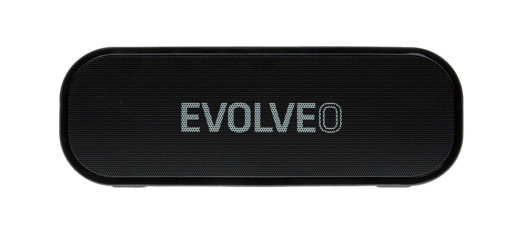 EVOLVEO Armor GT7, outdoorový Bluetooth reproduktor, 20W, 4400mAh,MP3 přehrávač, FM, microSDHC,HF,BT4.2EDR,černý