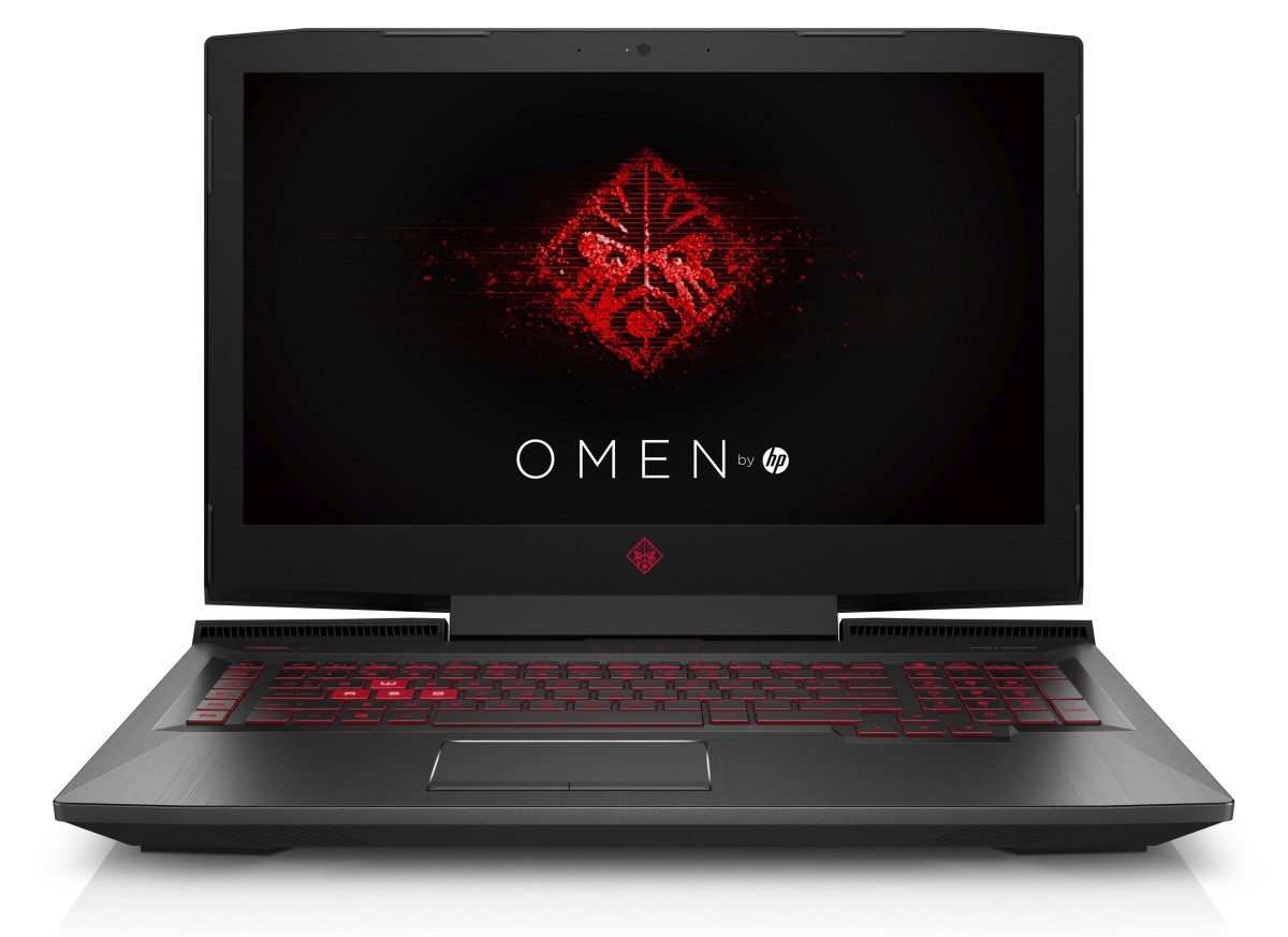 HP Omen 17-an011nc FHD i5-7300HQ/8GB/256SSD+1TB/NV/DVD/2Rservis/W10-shadow black