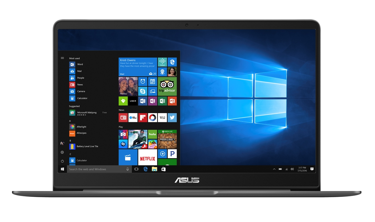 "ASUS UX530UQ-FY005R i5-7200U/8GB/256GB SSD M.2/GeForce 940MX/15.6"" FHD LED matný/W10 Pro/Grey"