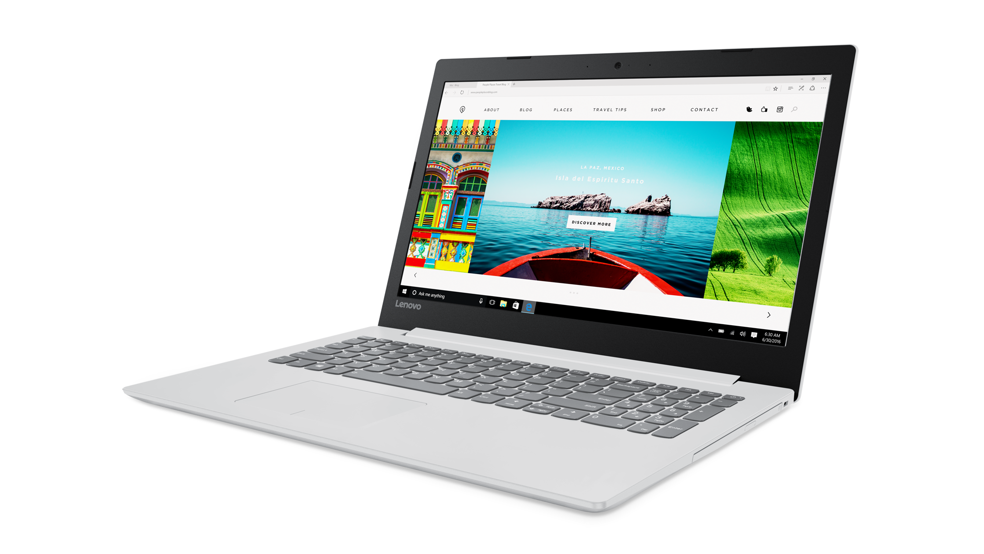 "Lenovo IdeaPad 320-15IKBA i5-7200U 3,10GHz/6GB/SSD 128GB/15,6"" FHD/AG/Radeon 2GB/WIN10 bílá 80YE000PCK"