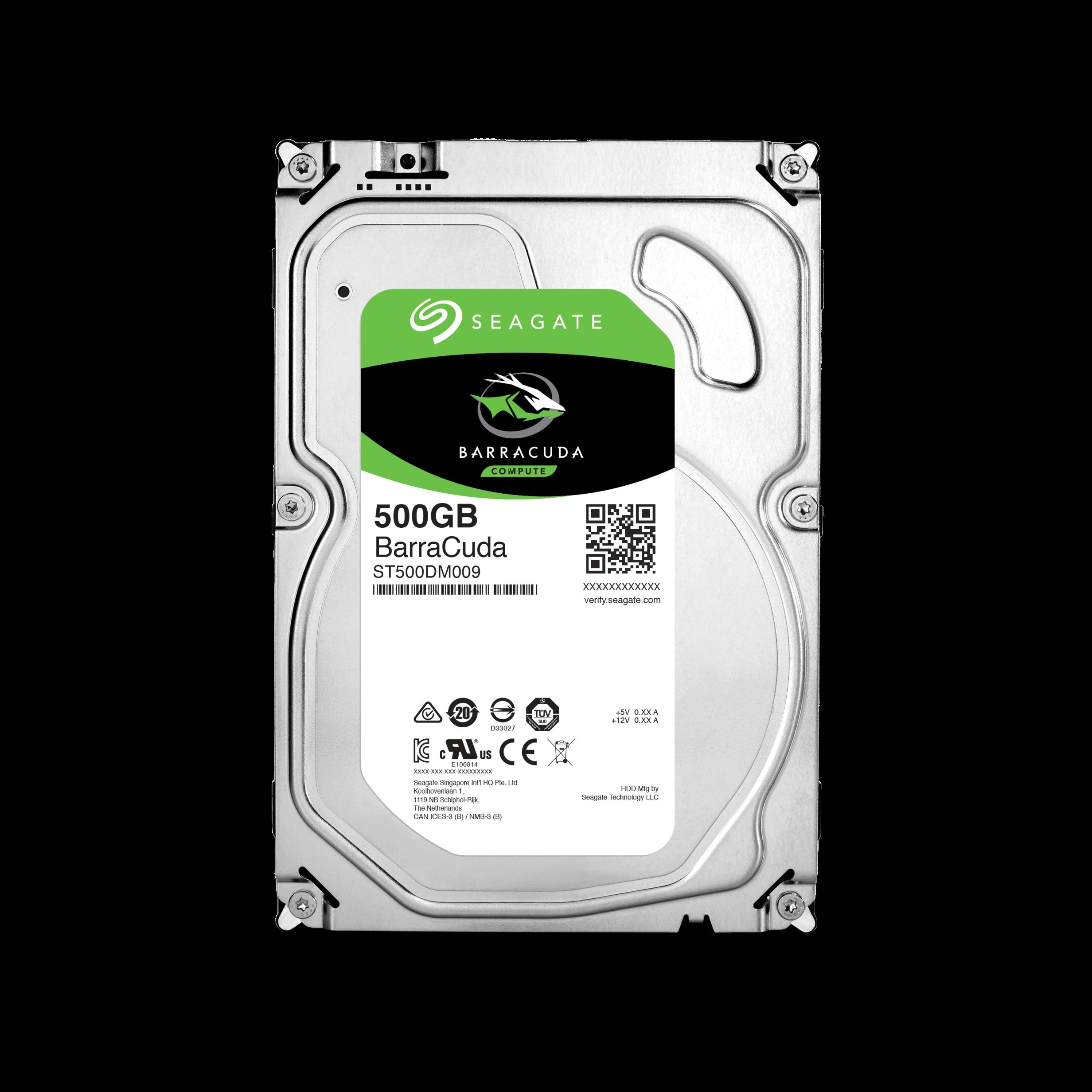 "Seagate BarraCuda 3.5"" HDD, 500GB, 3.5"", SATAIII, 32MB cache, 7.200RPM"
