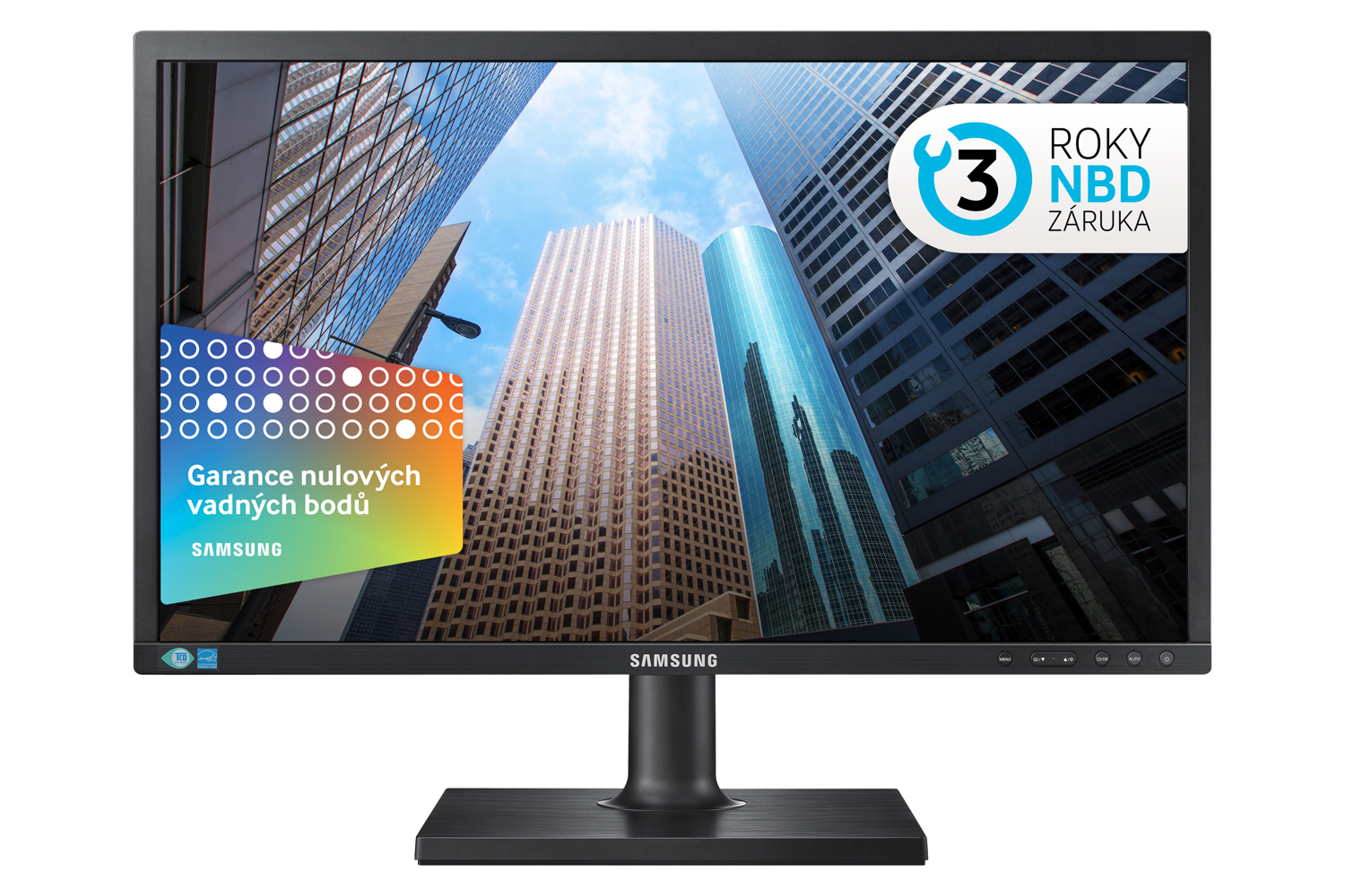 "Samsung LED LCD 24"" S24E450 - TN/1920x1080/1000:1/5ms/300cd/D-SUB/DVI"