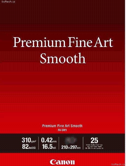 Canon fotopapír Premium FineArt Smooth A3 25 sheets